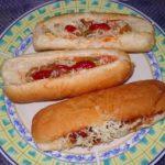 Indian Style Veg Hot Dog