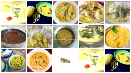 Curries Gravies Collage