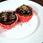 Mocha Chocolate Coffee Cupcakes Eggless