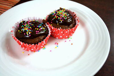 Mocha Chocolate Coffee Cupcakes Eggless