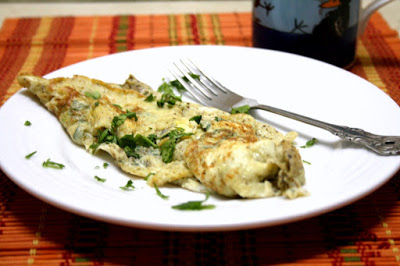 French Cheese Omelette