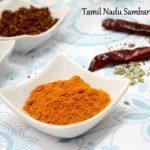 Tamil Nadu Sambar Podi