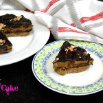 No Bake Truffle Biscuit Cake