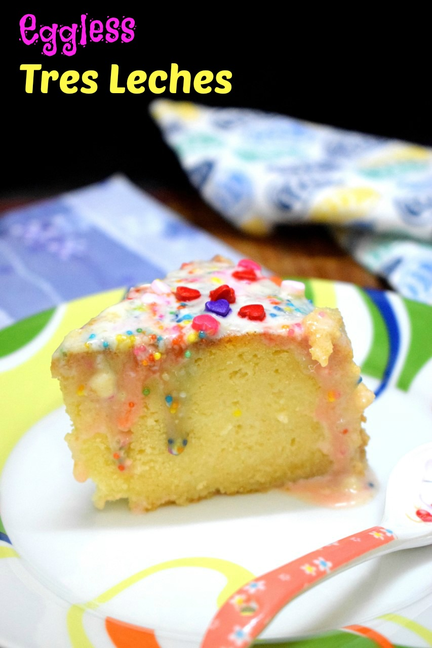 How to make Eggless Tres Leches