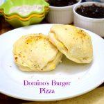 Domino's Burger Pizza