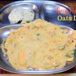 Spicy Vegetable Oats Dosa
