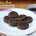 Dark Chocolate Chocolate Chunk Chocolate Chip Cookies