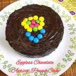 Eggless Chocolate Apricot Pound Cake