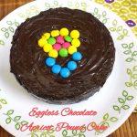 Eggless Chocolate Apricot Pound Cake