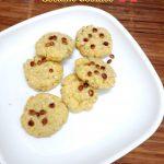 Eggless Pistachio Sesame Cookies