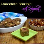 Milk Chocolate Brownie with Hazelnut