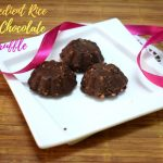 3 Ingredient Rice Crisp Chocolate Truffle