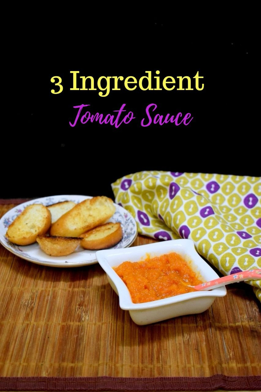 How to make 3 Ingredient Tomato Sauce