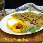 Stuffed Peas Paratha