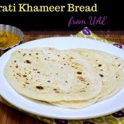 Emirati Khameer Bread