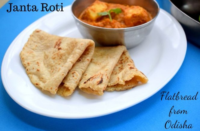 Janta Roti Flatbread from Odisha