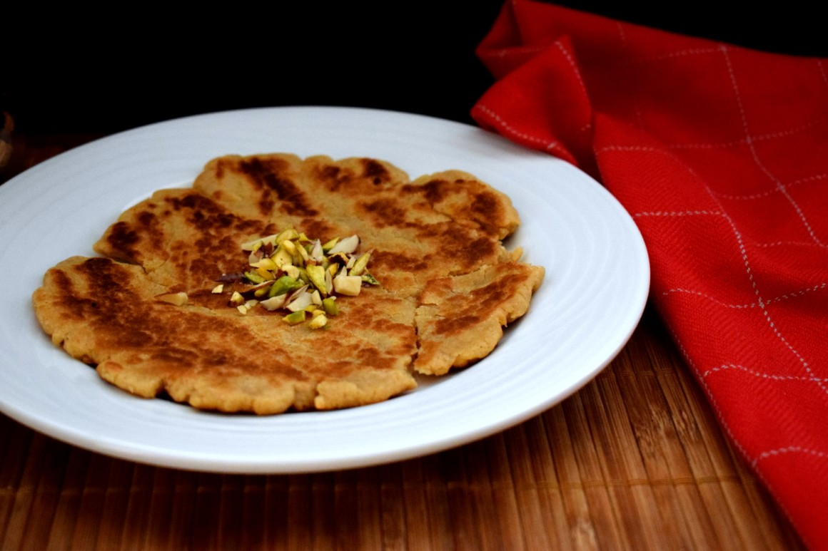 Sindhi Sweet Flatbread