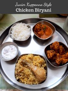 Junior Kuppanna Style Chicken Biryani