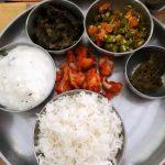 Chukka Aaku Chutney - Indian Mini Thali