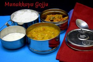 Drumstick Masala Curry - Indian Lunch Box