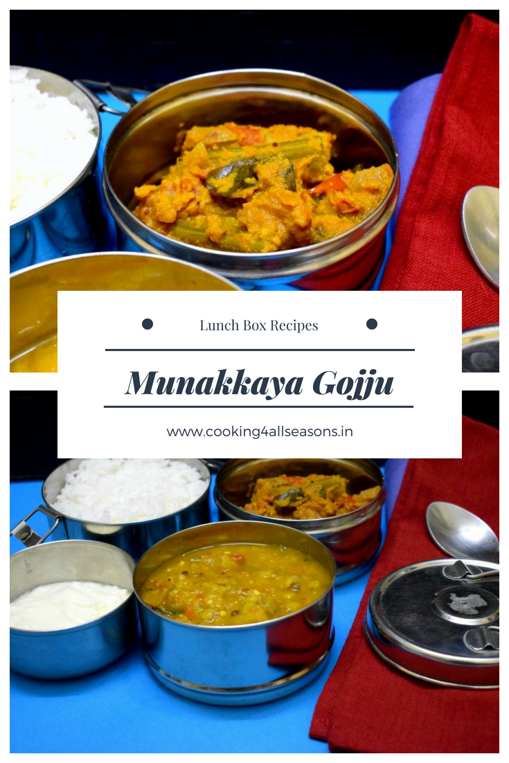 How to make Munakkaya Gojju