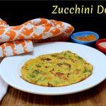Zucchini Dosa