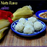 Mixed Nuts Rava Ladoo