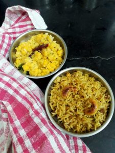 Pulihora - Spicy Tamarind Rice