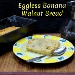 Eggless Banana Walnut Bread
