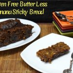 Gluten Free Vegan Butter Less Sticky Banana Bread