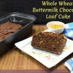 Whole Wheat Buttermilk Chocolate Loaf Cake