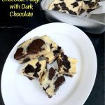 Oreo White Chocolate Fudge with Dark Chocolate