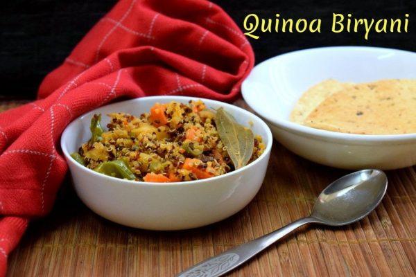 Quinoa Biryani