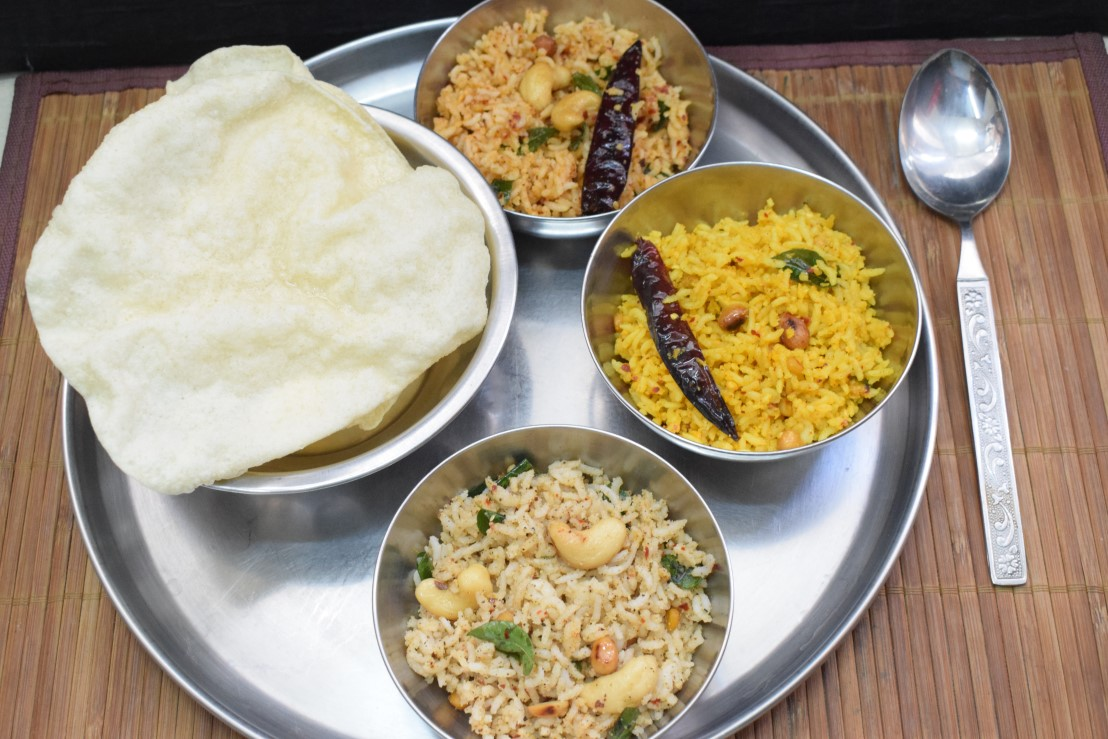 South Indian Special Sesame Rice