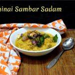 Thinai Sambar Sadam