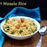 Xacuti Masala Rice
