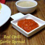 Red Chili Garlic Spread