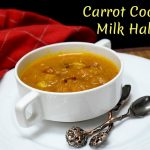 Carrot Coconut Milk Halwa