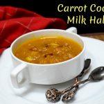 Carrot Coconut Milk Halwa