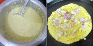 Yellow Moong Dal Dosa 1