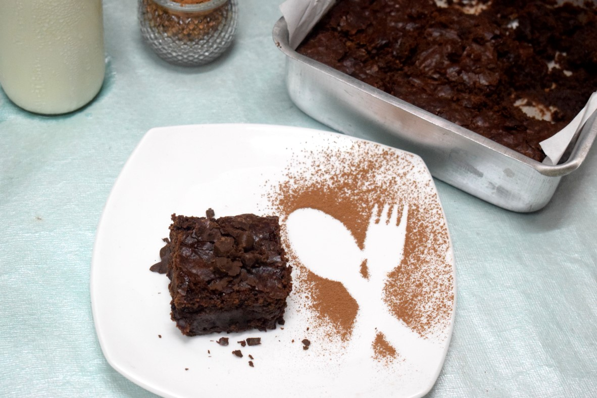 Egg Free Buttermilk Brownies