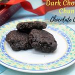 Dark Chocolate Chunk Chocolate Cookies