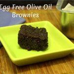 Egg Free Olive Oil Brownies