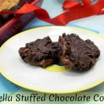 Nutella Stuffed Chocolate Cookie