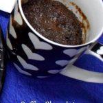 Coffee Chocolate Mug Cake