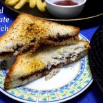 How to make Grilled Chocolate Sandwich