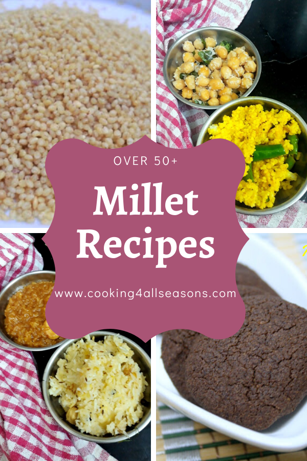 Over 50 Millet Recipes