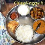 Everyday Simple Thali - Chinna Vengaya Kulambu