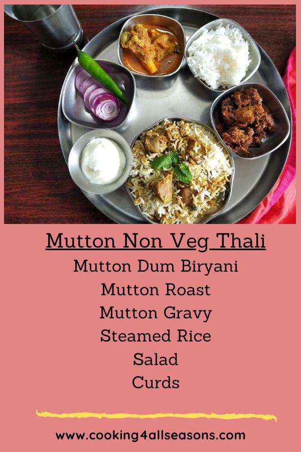 Mutton Non Veg Thali 2