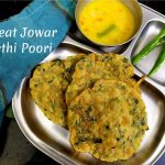 Wheat Jowar Methi Poori